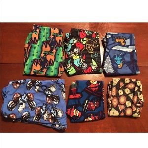 LuLaRoe Leggings  Lot 6 assorted sizes New No tags